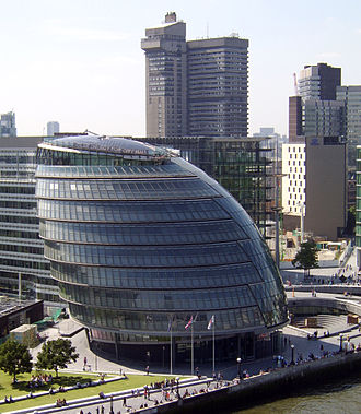 Greater London Authority - Image: City Hall London 2007