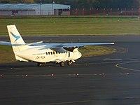 Citywing (OK-RDA), Newcastle Airport, October 2014.JPG