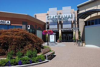 Clackamas Town Center - South entrance in 2011