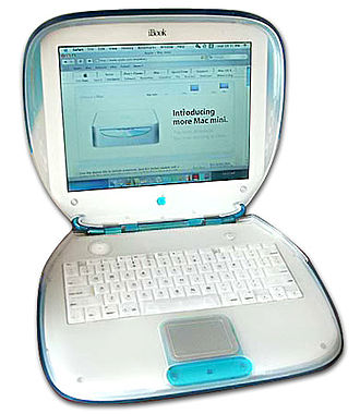IBook - The original iBook in Blueberry color