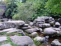 Clapper bridge, Dartmeet - geograph.org.uk - 83521.jpg