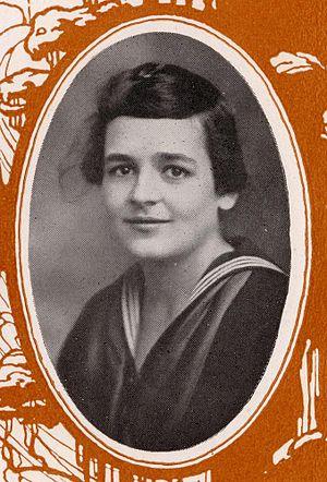 Clara McMillen - 1921 Yearbook Photo