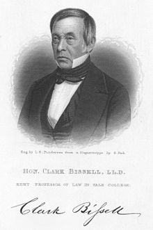 Clark Bissell professor of law Yale and Governor of Connecticut.jpg