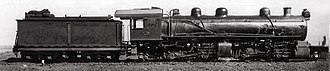 South African Class MF 2-6-6-2 - Image: Class MF no. 1620 a
