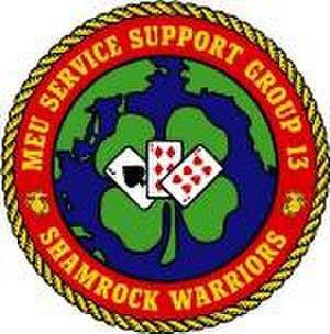 Combat Logistics Battalion 13 - Old MSSG-13 insignia.