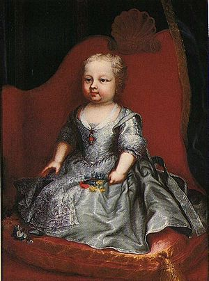 Princess Eleonora of Savoy - Image: Clementi Eleonora of Savoy as a child, Stupinigi