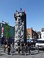 Climbing wall, Liverpool Blitz 70 event - DSCF0103.JPG