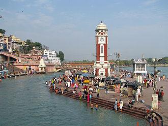 Sapta Puri - Har-ki-Pauri at Haridwar