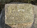 Close Up of Stone Tablet on Rock Beside the Pennine Way. - geograph.org.uk - 394609.jpg