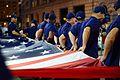 Coast Guard participates in Seattle's 67th annual Safari Torchlight Parade (29850514562).jpg