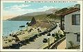 Coast Highway at Castle Rock, Near Santa Monica, California. (pcard-print-pub-pc-21a).jpg