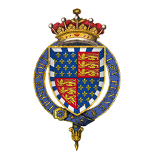 Coat of Arms of Sir John Beaufort, 1st Earl of Somerset, KG.png