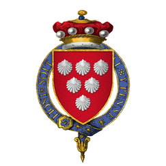 Coat of Arms of Sir Thomas de Scales, 7th Baron Scales, KG.png