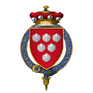 Thomas de Scales, 7th Baron Scales - Arms of Sir Thomas de Scales, 7th Baron Scales, KG