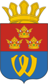 Coat of Arms of Vyborg rayon (Leningrad oblast).png