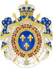 Coat of Arms of the Bourbon Restoration (1815-30).svg