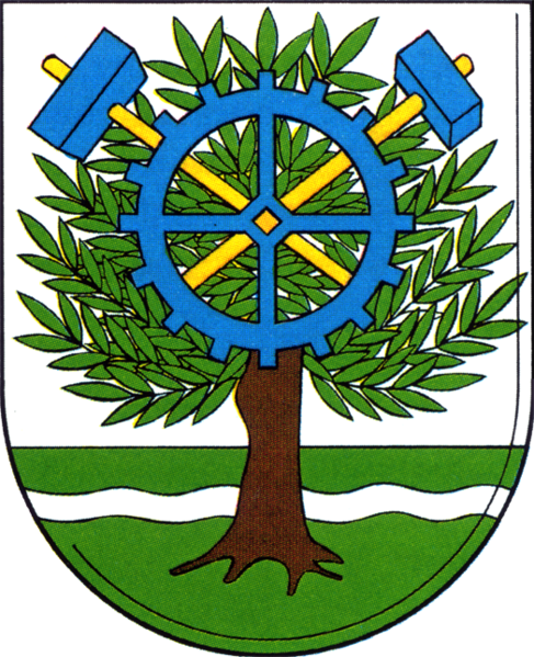 پرونده:Coat of arms de-be oberschoeneweide 1987.png