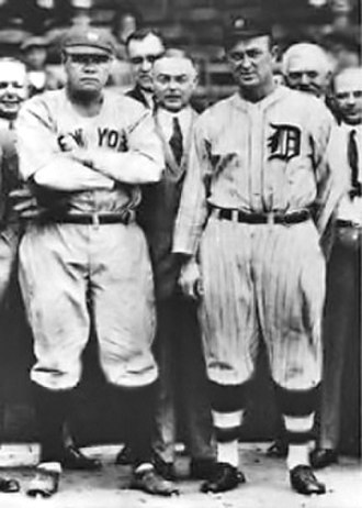 1936 Baseball Hall of Fame balloting - Babe Ruth and Ty Cobb