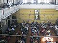 Coffee house view from 1st floor, college street in Kolkata 01.JPG
