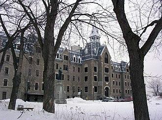 Sainte-Thérèse, Quebec - The old Séminaire de Sainte-Thérèse