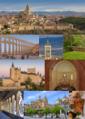 Collage de la ciudad de Segovia, Castilla y León, España.png