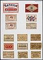 Collectie NMvWereldculturen, TM-6477-105, Etiketten van luciferdoosjes, 1900-1949.jpg