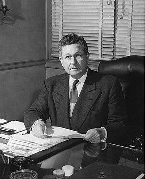 John W. Harrelson - Image: Colonel John W. Harrelson, Chancellor of North Carolina State University, 1953