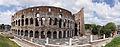 Colosseum exterior rear 2012 sweep panorama.jpg