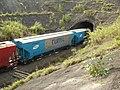 Comboio que passava sentido Guaianã no túnel da Variante Boa Vista-Guaianã km 192 em Itu - panoramio.jpg