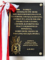 Commemorative plaque in Basilica of the Nativity of St Mary and St Nicholas in Bielsk Podlaski - 03.jpg