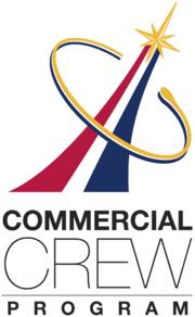Commercial Crew Program logo - white background