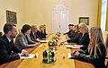 Commissioner Avramopoulos with Prime Minister of Slovenia Miro Cerar, 22-10-2015 (22424000091).jpg