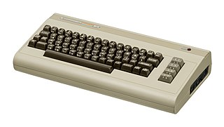 Commodore 64 8-bit home computer introduced in 1982