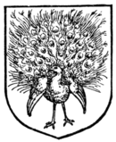 Fig. 469.—Peacock in his pride.