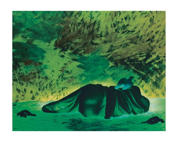 File:Conceptual Art by Contemporary Indian Artist Diwan Manna, Shores of the Unknown Series 11.jpg