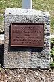 Condon Memorial Park plaque at Condon Park in Dedham, MA.JPG