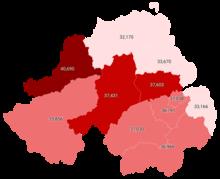 100.000 kişi başına LGD tarafından Kuzey İrlanda'da teyit edilen vakalar.png
