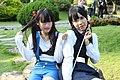 Cosplayers of Anko Kitashirakawa and Tamako Kitashirakawa at CWT T12 20140824a.jpg