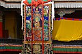 Courtyard of the Kelsang Temple, Tashilhunpo Monastery, Shigatse, Tibet (2).jpg