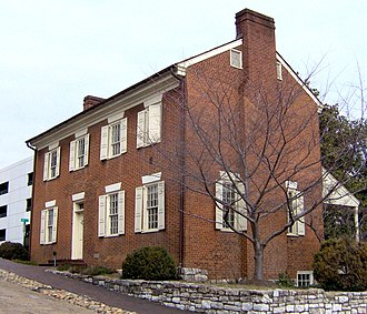 Knoxville, Tennessee - The Craighead-Jackson House in Knoxville, built in 1818