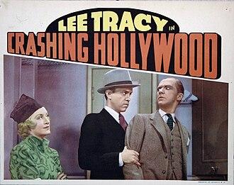Crashing Hollywood (1938 film) - Lobby card