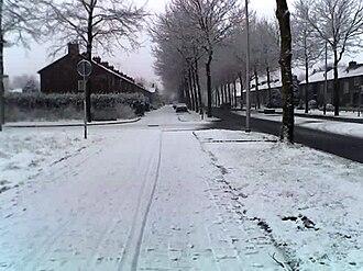 Creil, Netherlands - Image: Creil in de winter van begin 2005