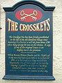 Crosskeys Inn information board - geograph.org.uk - 1532278.jpg