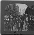Crowds walking at Second and Union, Seattle, 1908 (MOHAI 1727).jpg