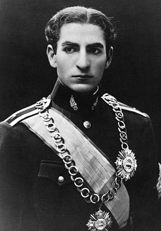 Mohammad Reza Pahlavi - Crown Prince Mohammad Reza in 1939