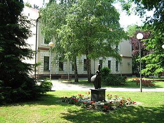 West Bačka District - Image: Crvenokosa boginja Odžaci