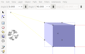 Cube with One Vanishing Point with 3D Box Tool in Inkscape.png