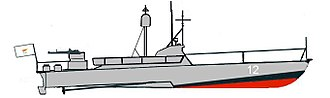 "Cypriot National Guard - Cyprus Navy P-4 ""Skinhead"" class Motor Torpedo Boat"