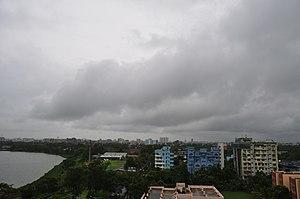 Cyclone Roanu - Fracto-Cumulus over Kolkata.