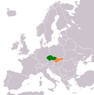 Diplomatic relations between Czech Republic and the Slovak Republic
